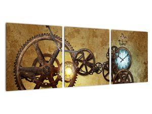 Obraz strojků historických hodin (V021924V9030)