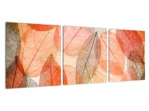 Obraz malovaného podzimního listí (V021944V9030)