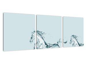 Obraz - Koně z kapek vody (V021946V9030)