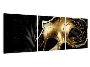 Obraz - Zlatá škraboška (V021952V9030)