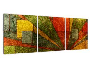 Obraz geometrické abstrakce (V021955V9030)