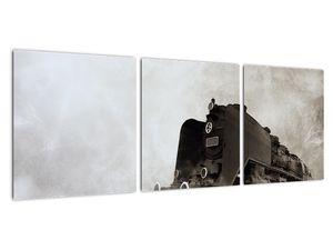 Obraz - Vlak v mlze (V021961V9030)