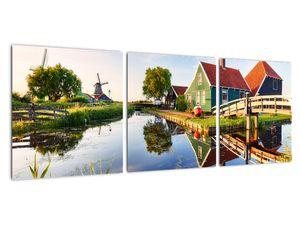 Obraz nizozemských mlýnů (V022026V9030)