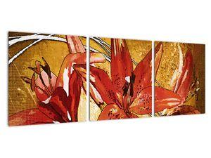 Obraz květů lilií (V022065V9030)