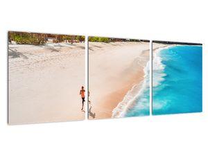 Obraz - Plážový běh (V022112V9030)