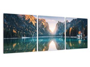 Obraz - Horské jezero (V022151V9030)