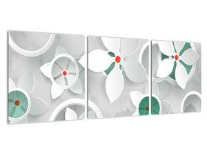 Obraz květinové abstrakce (V022164V9030)