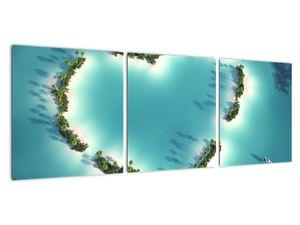 Obraz - Ostrovy srdce (V022224V9030)