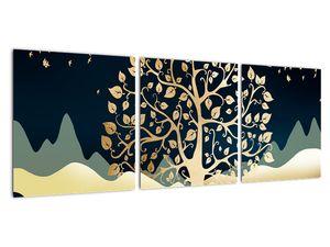 Slika zlatega drevesa (V022286V9030)