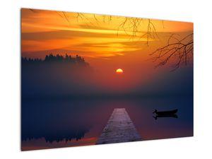 Híd képe naplementekor (V020012V9060)