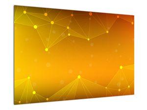 Abstraktní žlutý obraz (V020045V9060)