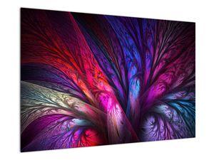 Tablou abstract cu copacul (V020125V9060)