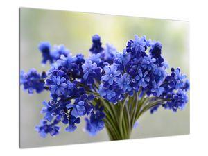 Obraz kytice modrých květů (V020175V9060)