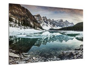 Tablou - lacul iarna (V020181V9060)