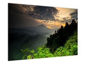 Obraz - zelená horská krajina (V020249V9060)