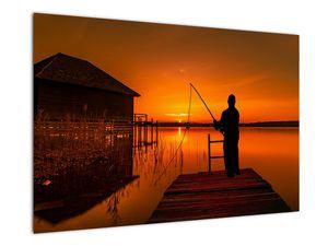 Tablou cu pescar (V020264V9060)