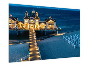 Tablou - hotel pe plajă (V020289V9060)