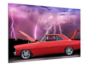 Slika crvenog automobila (V020409V9060)