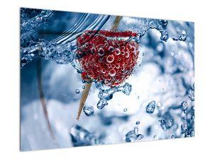 Kép - málna részlete a vízben (V020516V9060)