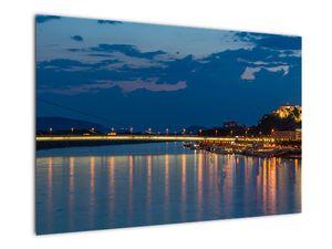 Obraz Bratislavy s hradem (V020704V9060)