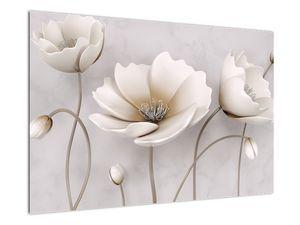 Obraz bílých květin (V020898V9060)