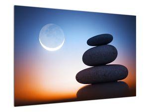Obraz poskládaných kamenů na sobě (V020903V9060)