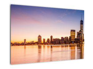 Obraz města při západu slunce (V020924V9060)