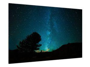 Obraz nočnej oblohy s hviezdami (V021100V9060)