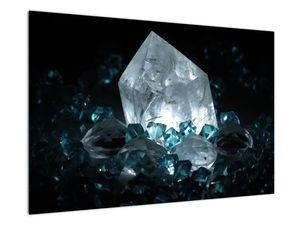 Schilderij - Kristal (V021107V9060)
