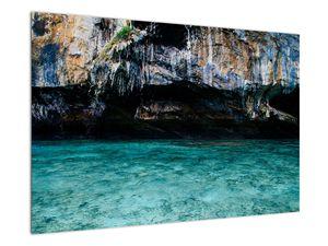 A víz és a sziklák képe (V021152V9060)