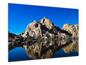 Obraz zrkadlenie skál (V021327V9060)