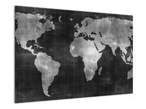 Obraz - Mapa světa (V021461V9060)