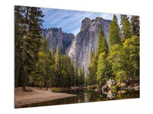 Kép - A Yosemite szikla alatt (V021691V9060)