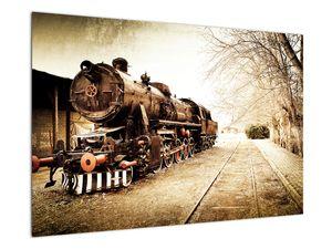 Slika - Povijesna lokomotiva (V021959V9060)