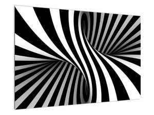 Absztrakt kép zebra csíkokkal (V021960V9060)