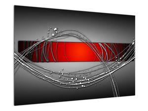 Abstraktionsbild (V022070V9060)