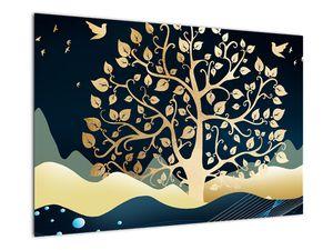 Slika zlatega drevesa (V022286V9060)