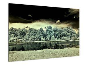 A víz felszínének képe (V022315V9060)