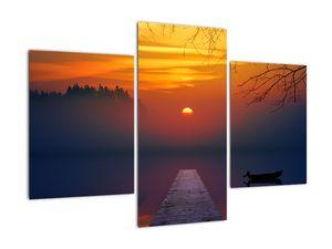 Híd képe naplementekor (V020012V90603PCS)