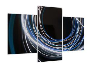 Tablou cu linii albastre (V020053V90603PCS)