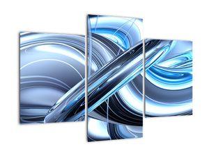 Tablou cu abstracție albastră (V020061V90603PCS)