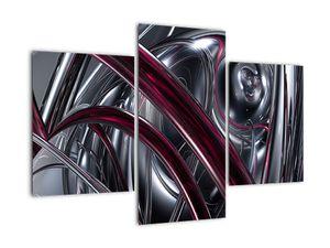 Tablou cu abstracție gri (V020094V90603PCS)