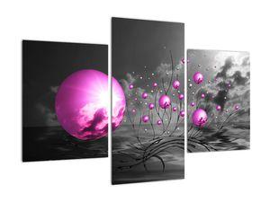 Obraz ružových gulí (V020108V90603PCS)