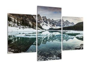 Tablou - lacul iarna (V020181V90603PCS)