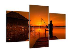 Tablou cu pescar (V020264V90603PCS)