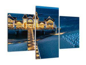 Tablou - hotel pe plajă (V020289V90603PCS)