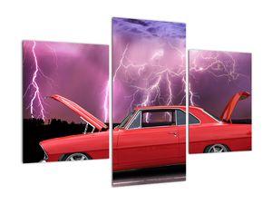 Slika crvenog automobila (V020409V90603PCS)