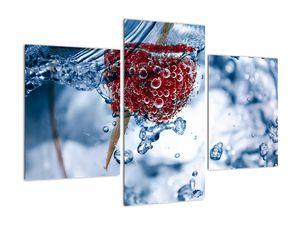Kép - málna részlete a vízben (V020516V90603PCS)