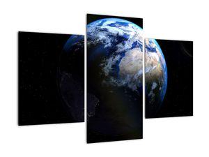Föld és a Hold képe (V020671V90603PCS)