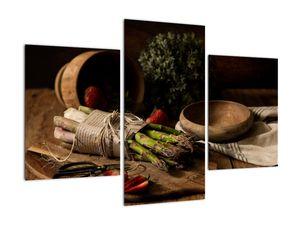Obraz špargle na stole (V020883V90603PCS)